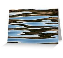 Water Study Greeting Card