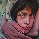 Afghan Girl by spiffing