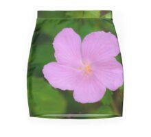 Pink Flower Mini Skirt
