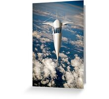 Concorde going for it Greeting Card