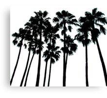 palm skyline ... Canvas Print