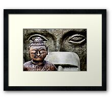 Buddha & friends... Framed Print
