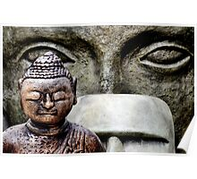 Buddha & friends... Poster