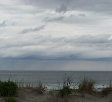 Rain over the Atlantic by hojer05