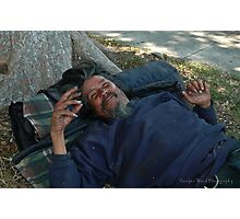 Siesta time for Tim. Photographic Print
