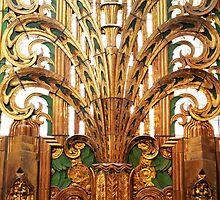Miami Art Deco Gold by amcrist