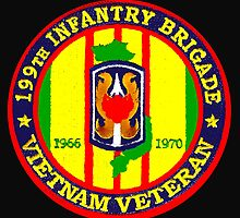 199th Infantry - Vietnam Veteran by Buckwhite