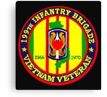 199th Infantry - Vietnam Veteran Canvas Print