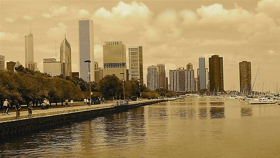 RICHNESS  OF CHICAGO by Scott  d'Almeida