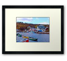 North West Cove Framed Print