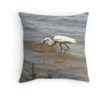 I see dinner... Throw Pillow