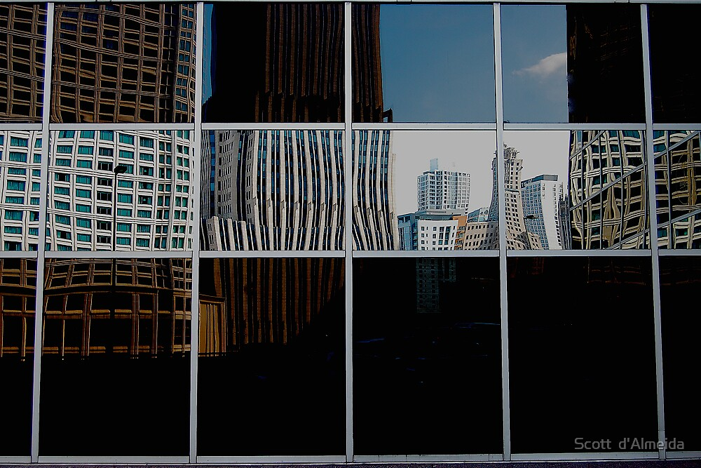 REFLECTIVE PATCH WORK  by Scott  d'Almeida