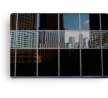 REFLECTIVE PATCH WORK  Canvas Print