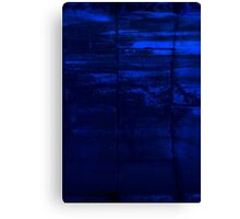 Blocks Of Blue Canvas Print