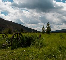 Holzwarth Historic Site at Rocky Mountain National Park, Colorado by Rob Schoon