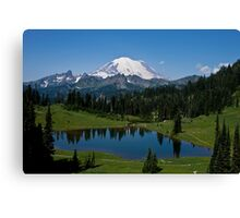 Mt. Rainier and Tipsoo Lake (Mt. Rainier National Park) Canvas Print