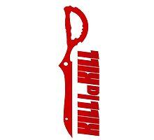 Kill la Kill Scissorblade Red by MaxiLichtblau