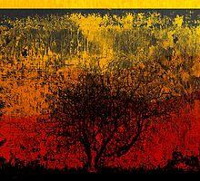 Lone Watchman of a Lifeless Land. by Lynne Haselden