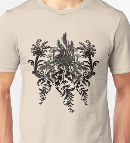 Foresty Foliage Print Unisex T-Shirt