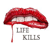 Love Hurts, Life Kills Photographic Print