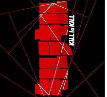 Kill la Kill Logo Lines by MaxiLichtblau