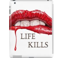 Love Hurts, Life Kills iPad Case/Skin