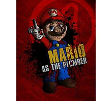 Borderlands - Mario As The Plumber Photographic Print