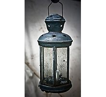Old Army Lantern Photographic Print