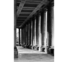 Portico At Greenwich Photographic Print