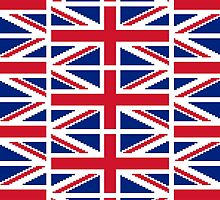 8 Bit Union Pixel Jack by tinybiscuits
