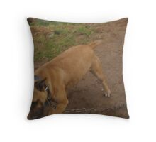 sadness around Throw Pillow