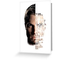 My Name is Oliver Queen Greeting Card