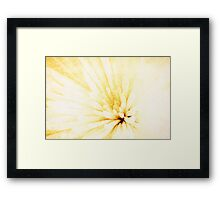 Grungy Golden Framed Print