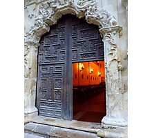 Mission Doorway Photographic Print