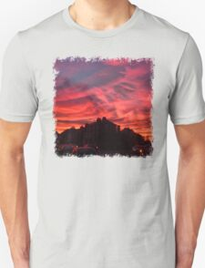 Red Streets - Photography Unisex T-Shirt