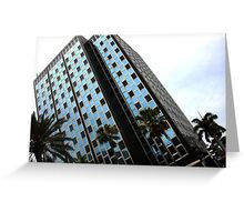 Miami Art Deco Building Greeting Card