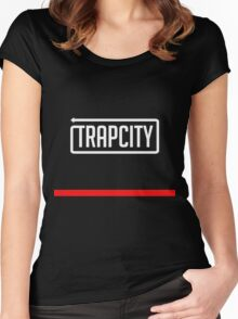 Trap City Women's Fitted Scoop T-Shirt