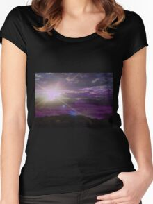 ~ode to Eos~ Women's Fitted Scoop T-Shirt