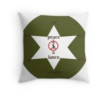 Fatigued Hippies Throw Pillow
