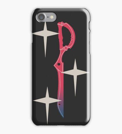 Kill la Kill Scissorblade Stars iPhone Case/Skin