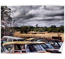 Two Herds   ( BoneYard Series ) Poster