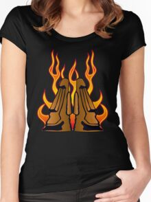Tiki Idols Women's Fitted Scoop T-Shirt
