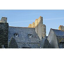 St Malo Rooftops Photographic Print