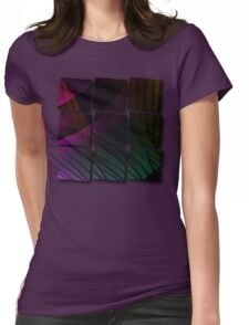 Dreams and reality Womens Fitted T-Shirt