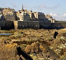 St Malo from the Fort by g369