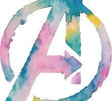Watercolor Avengers 2 by PeonyPaints