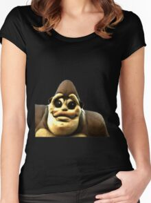 Smiling Gorila Women's Fitted Scoop T-Shirt