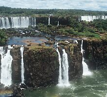 Iguacu Falls by Simon Hathaway