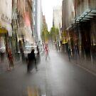 City in the Rain by Jason Bran-Cinaed