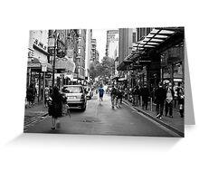 City Jogger Greeting Card